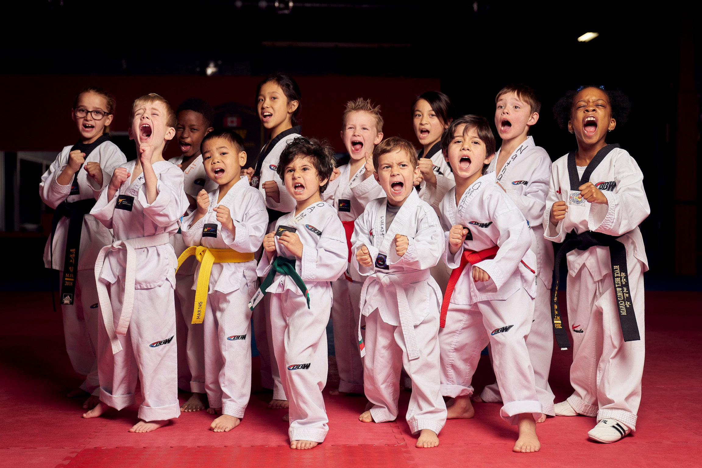 Children Taekwondo Team